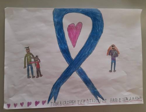 O LAÇO AZUL –  Mês de prevenção dos maus-tratos na infância | Abril 2020